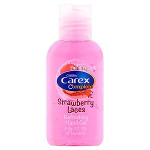 Carex Hand Gel 50ml Strawberry Laces Bathroom In 2019