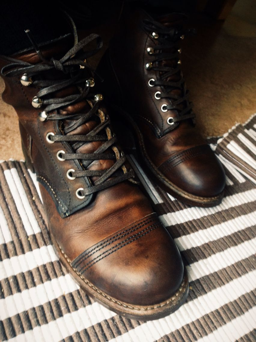 Men's fashion · Red wing Iron Rangers 8111 Amber Harness