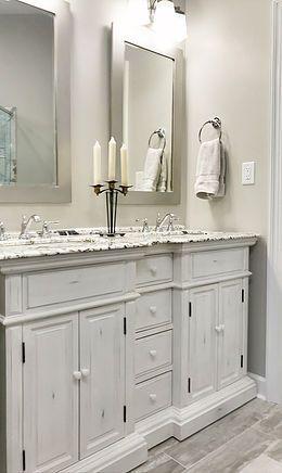 Finished Bathroom Pictures   L & K Designs - Remodel Your ...