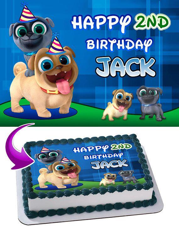 Personalized Birthday Cake Photo