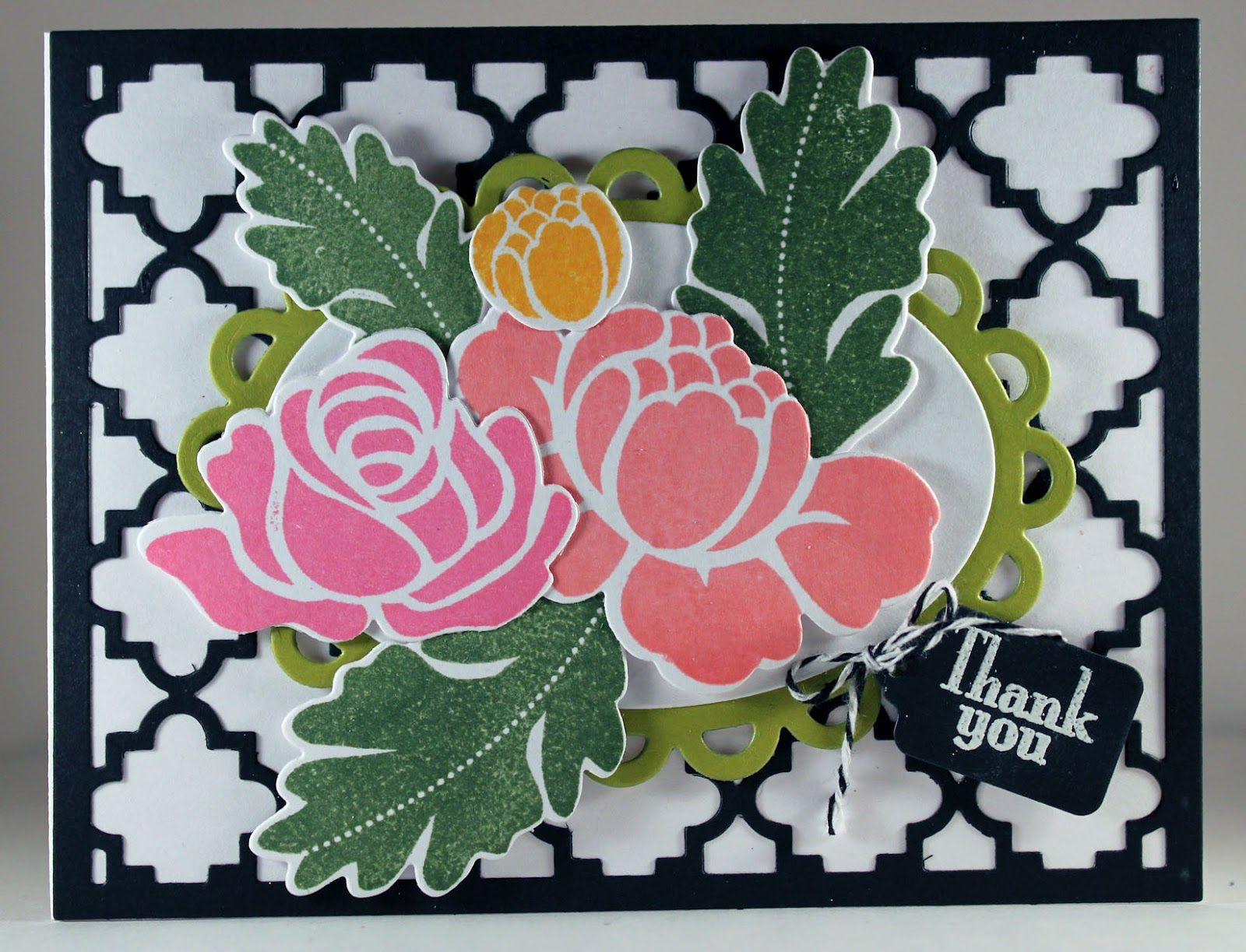 CARDS by SUSAN: Papertrey May Blog Hop Challenge 4