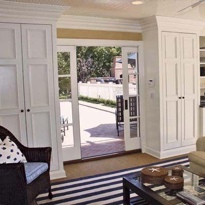 Marvelous Divided Light Pocket Doors | From Garage To Comfy Rec Room | Photos | Media