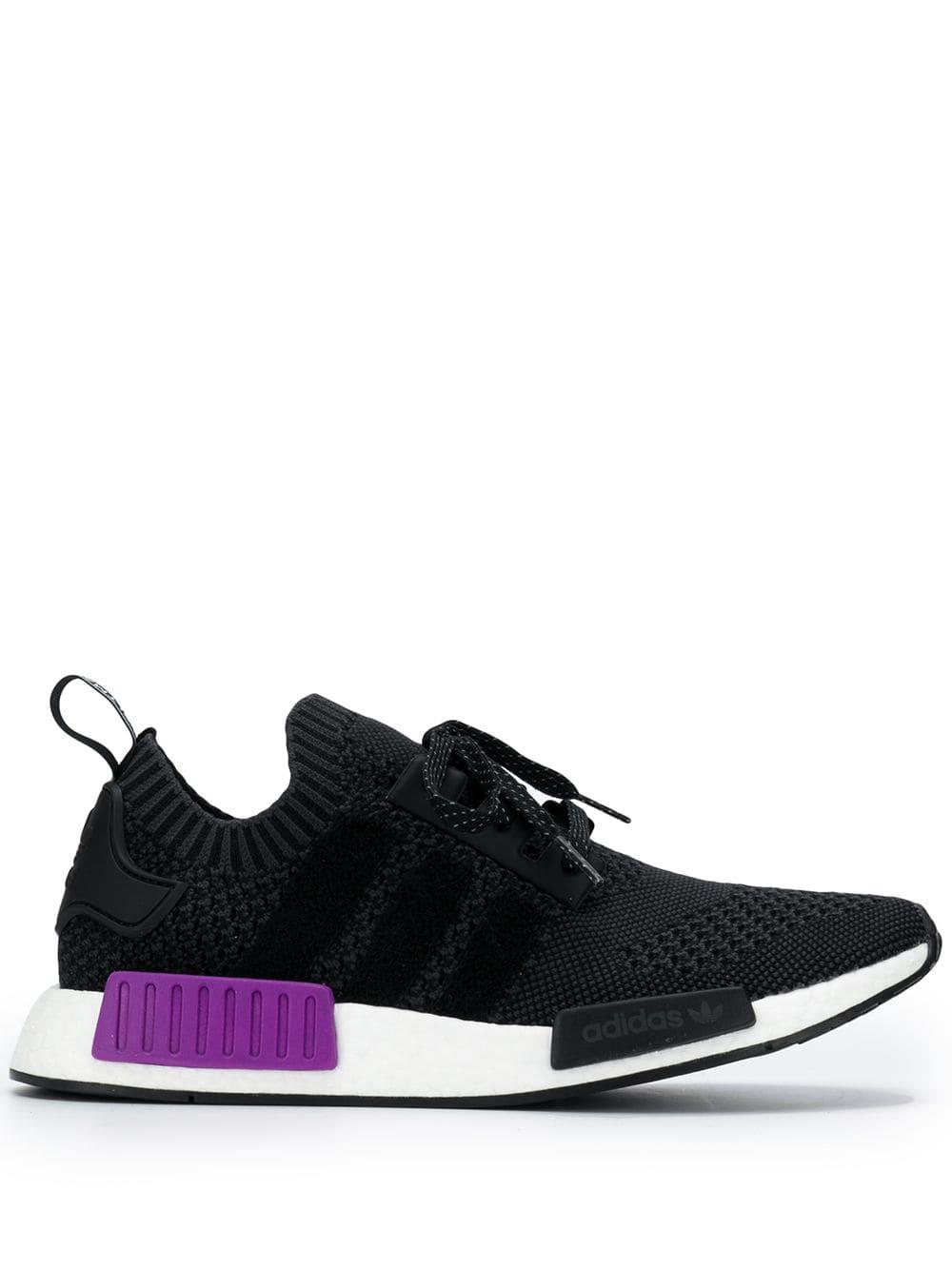 7cf9751919d52 ADIDAS ORIGINALS ADIDAS NMD R1 PRIMEKNIT SNEAKERS - BLACK.  adidasoriginals   shoes