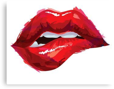 Almost Human Tomas Milian Throw Pillow Lips Illustration