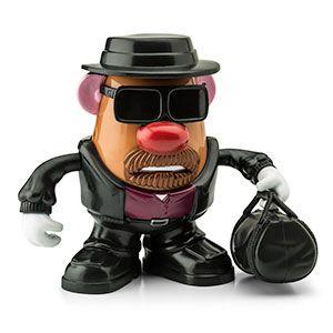 Mr Potato Head Breaking Bad Walter White as Fries-Enberg Pop Taters Heisenberg