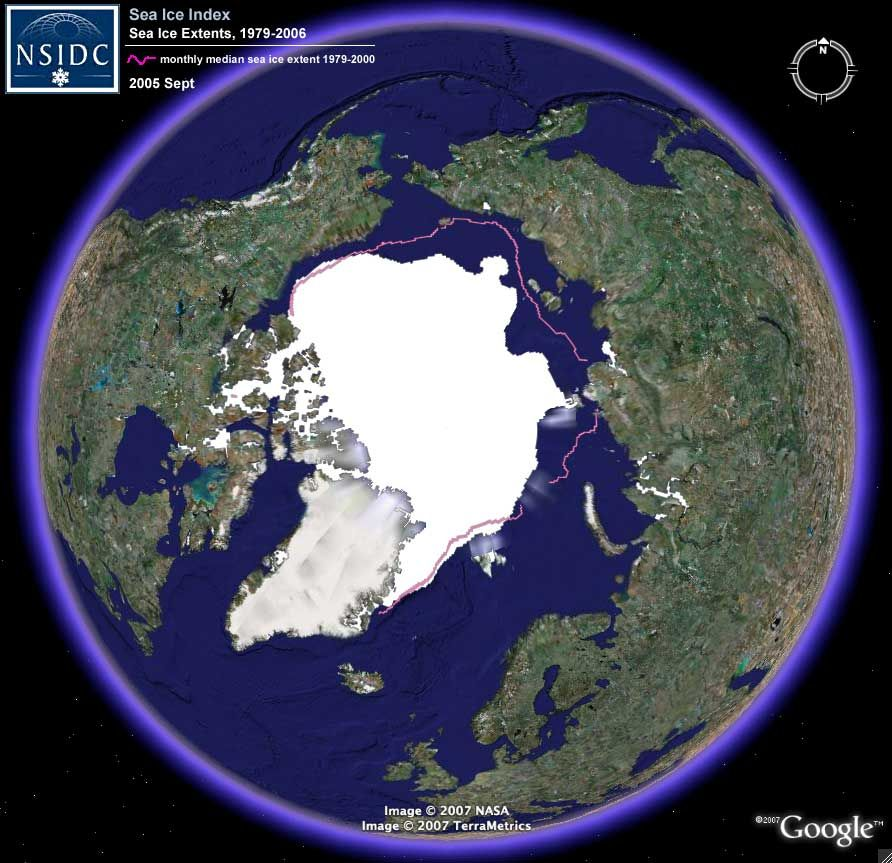 Sea Ice On Google Earth MandelaEffectd Our Changing - Google earth online