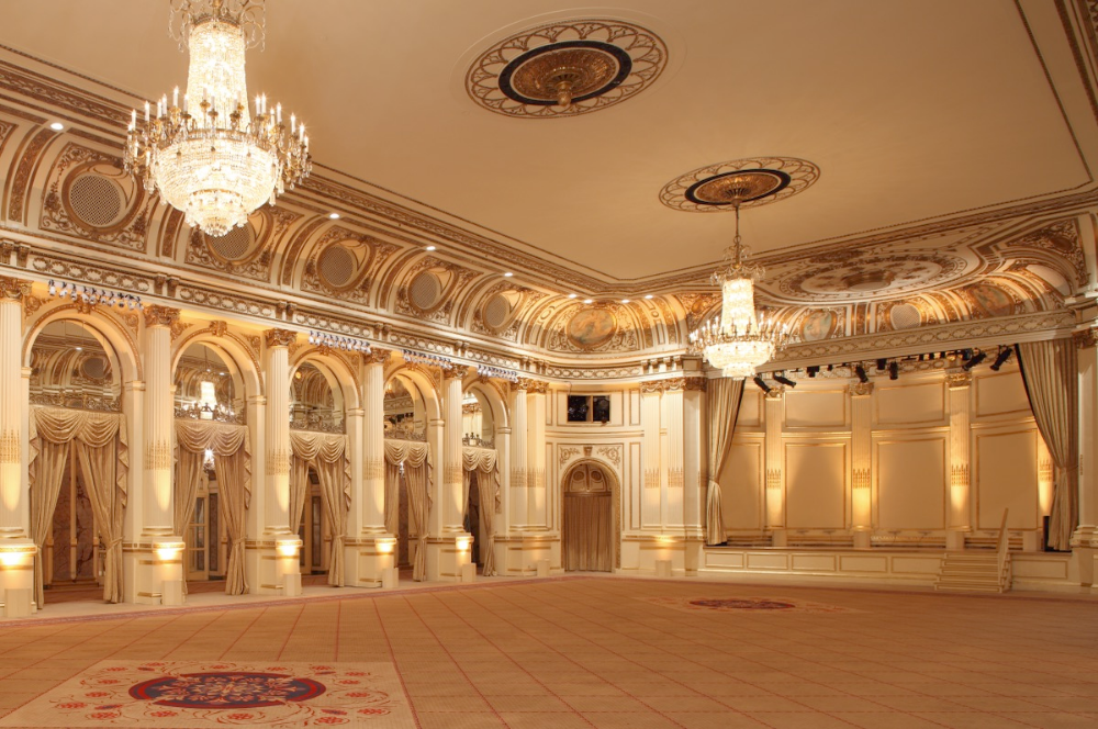 Gallery The Plaza (With images) Ballroom design, Hotel