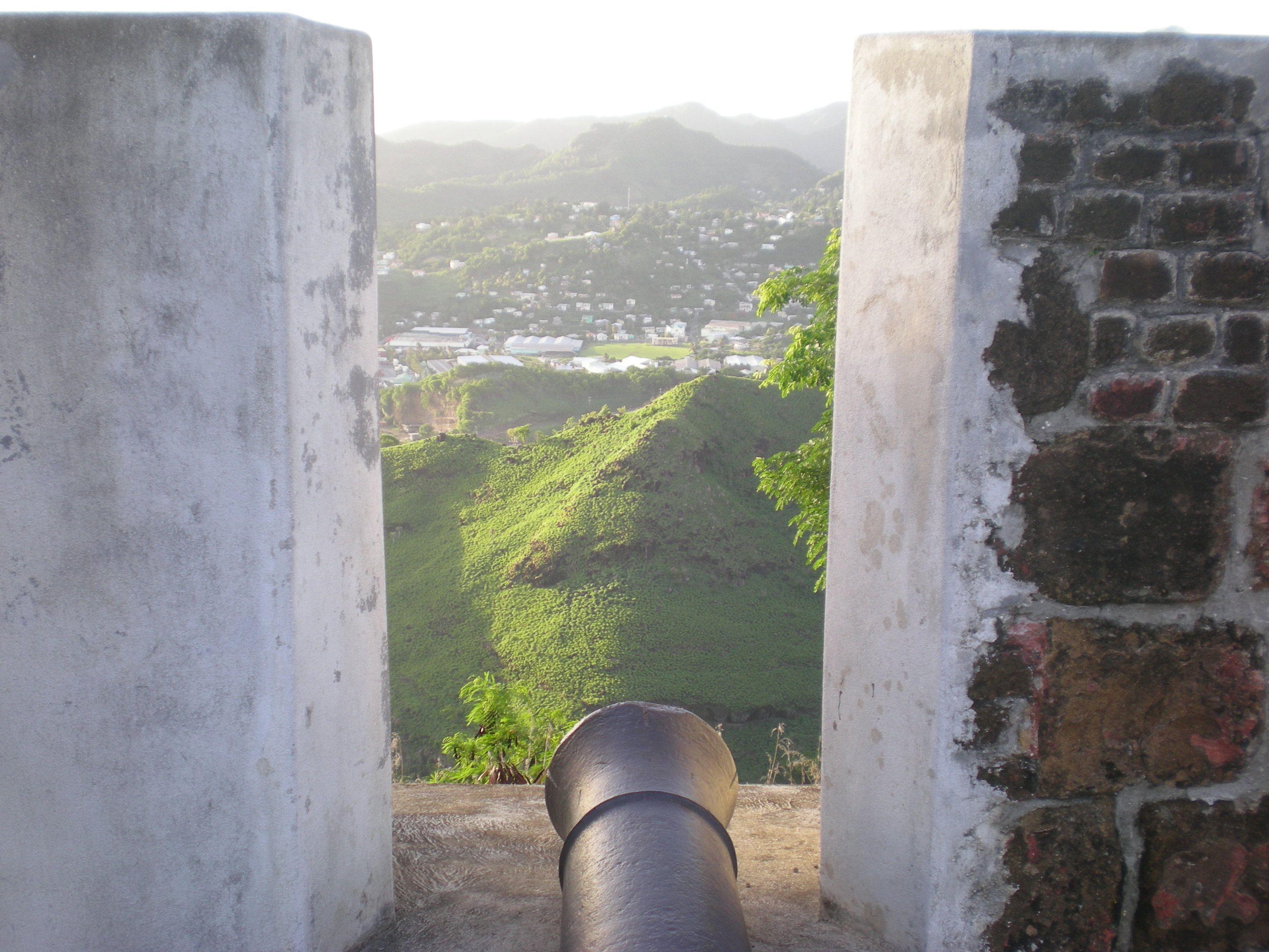 Old Fort St Vincent The Grenadines Grenadines Old Fort My Island