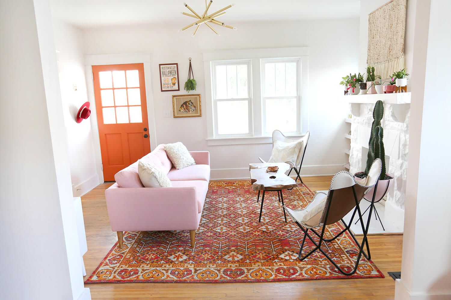 Inside Kacey Musgraves\' Living Room Makeover | A Beautiful Mess ...