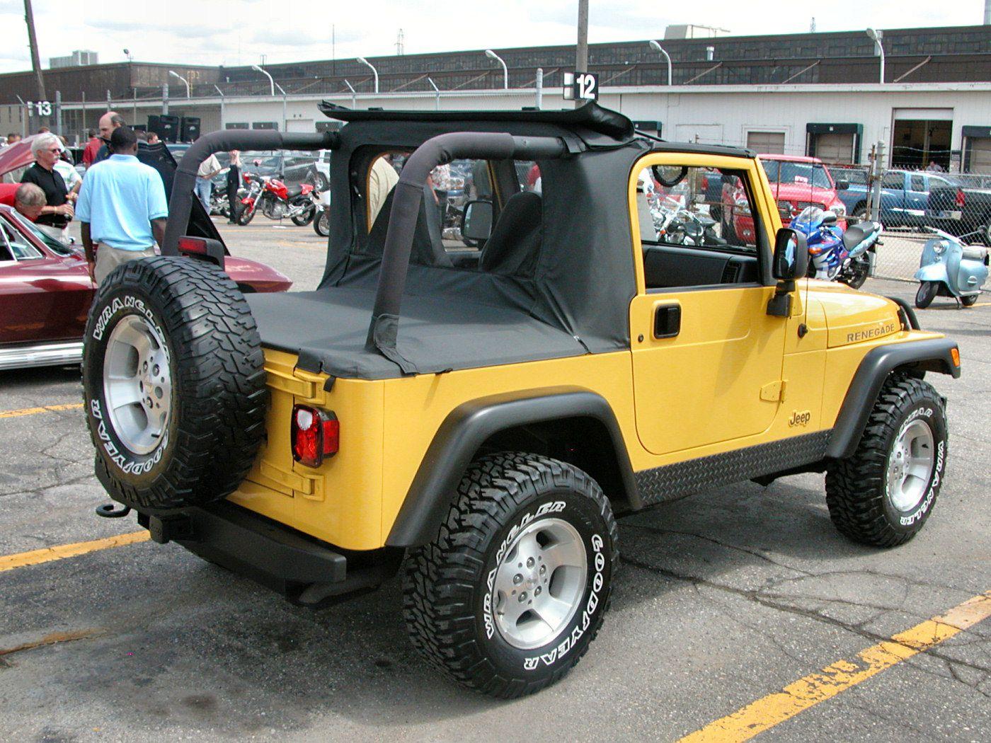 Renegade Fotos De Carros 2000 Jeep Wrangler Jeep Wrangler