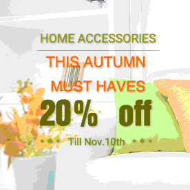 Home Accessories, THIS AUTUMN MUST HAVES