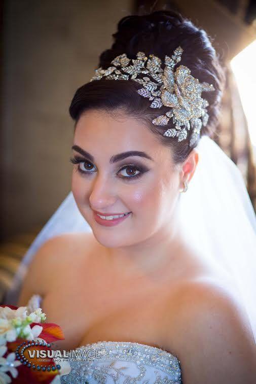 Notes From Bridal Styles Brides Sabrina Bride Headpiece Crystal Bridal Headpiece Wedding Hair Pieces