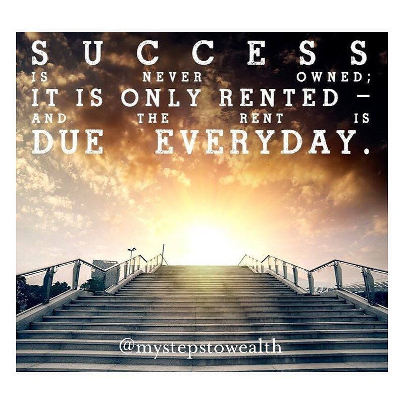 If The Rent On Your House Or Apartment Was Due Everyday Would You Just Sit Back And Say You Will Pay It Tomorrow Take The Stairs Time Freedom Change The World