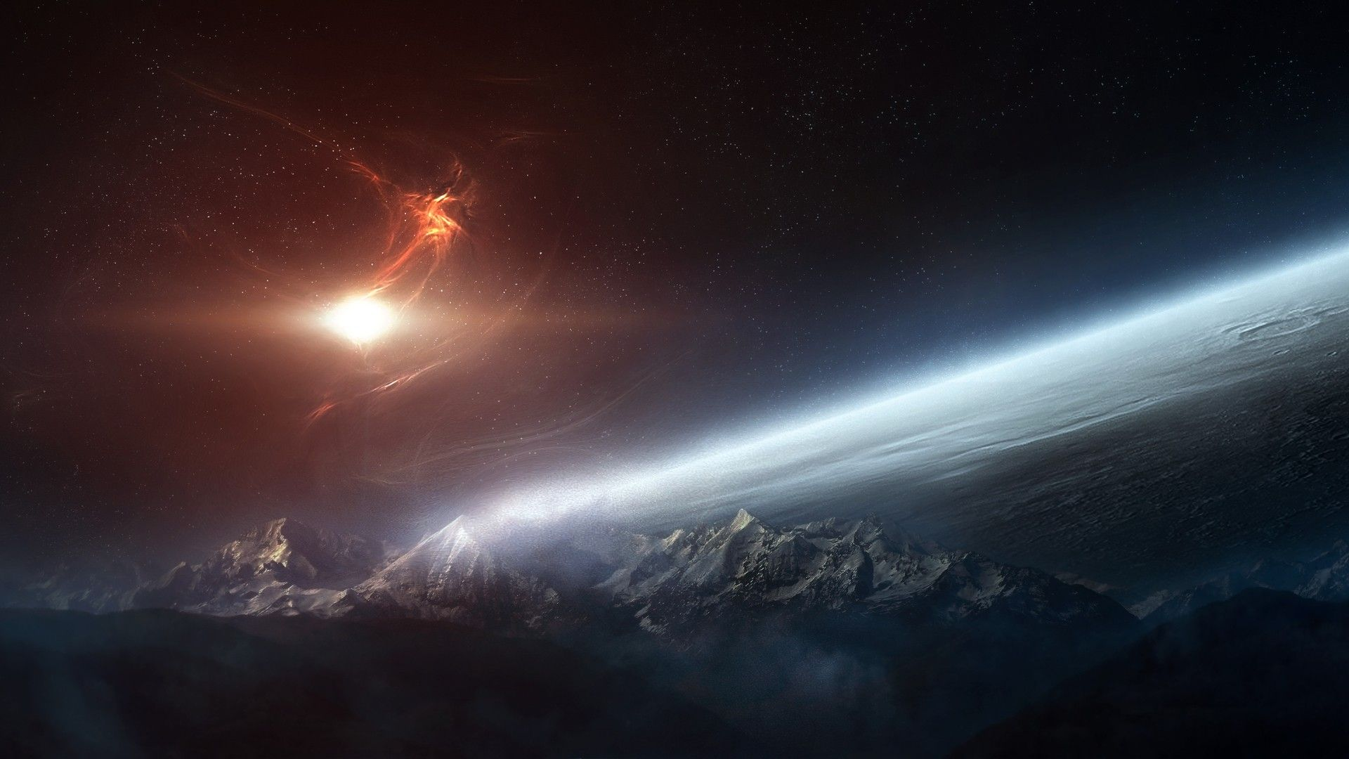 Outer Space HD Wallpaper » FullHDWpp - Full HD Wallpapers 1920x1080