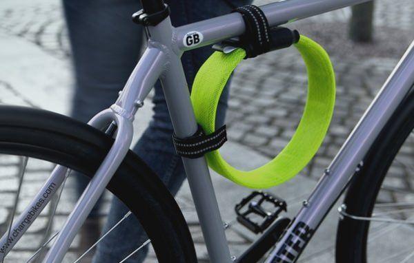 自転車用ロックをもっと軽く もっと柔らかく さらなる進化を遂げた Litelock Silver えん乗り 自転車 ロック 自転車 自転車 チェーン