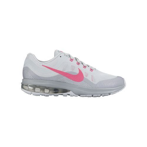 7c71538ed58f Nike Kids  Air Max Dynasty 2 GS Running Shoes (Pure Platinum Hyper  Pink Wolf Grey White