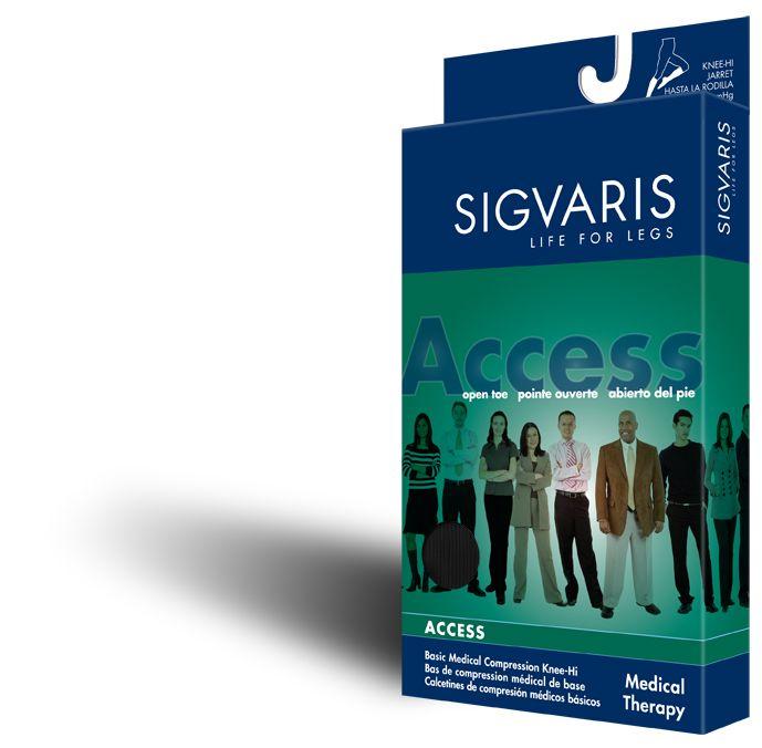 Sigvaris 970 Access Series 30-40 mmHg Women's Closed Toe Knee Highs - 973C