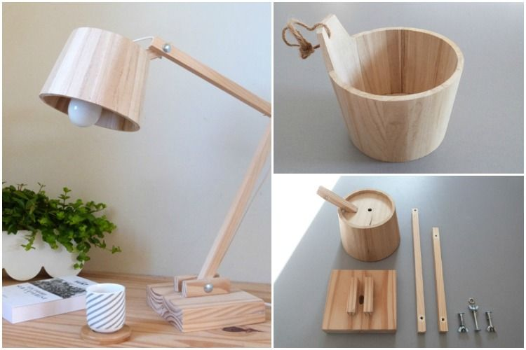 How To Make A Scandinavian Wood Lamp Id Lights Wood Lamps Lamp Wooden Lamp