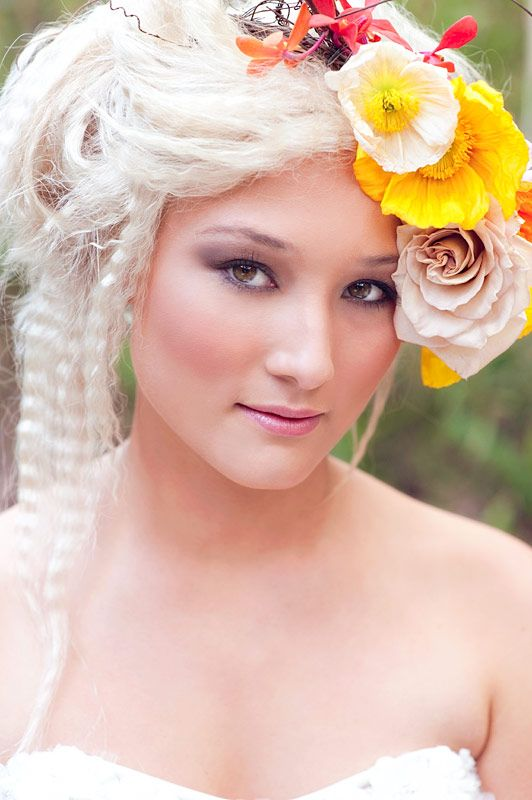 Image Result For Wedding Hair Flowers