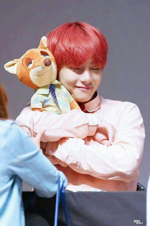 Photo of Taehyung photo fansign