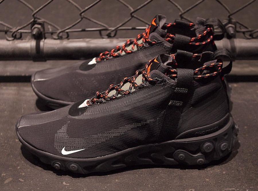 profumo Pensato inesorabile  Nike React LW WR Mid ISPA Release Date - Sneaker Bar Detroit | Black nike  shoes, Nike sneakers mens, Mens nike shoes