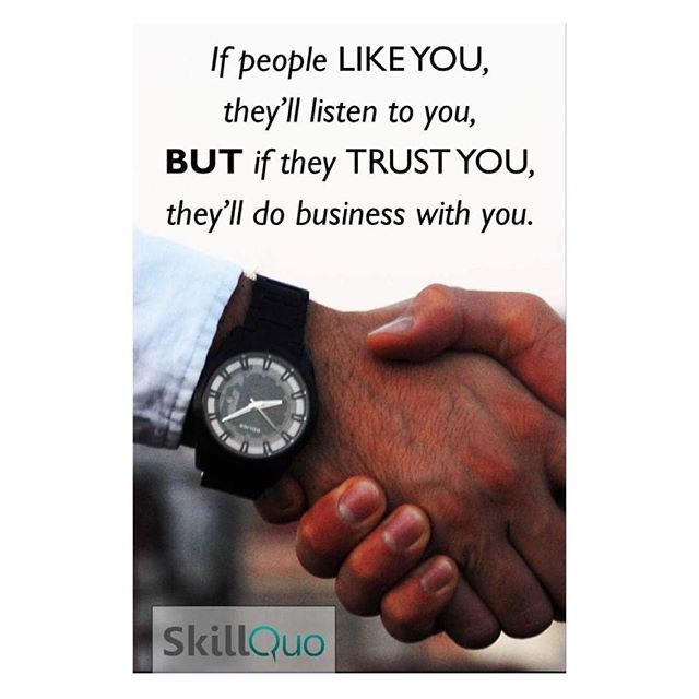 Trust Is Vital In Any Professional Agreements Consulting