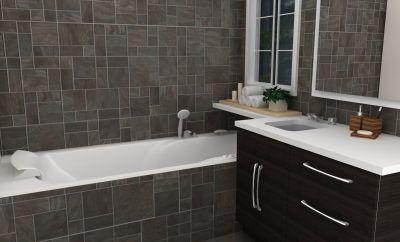 Zeer kleine badkamer inrichten luxe badkamermeubels kleine