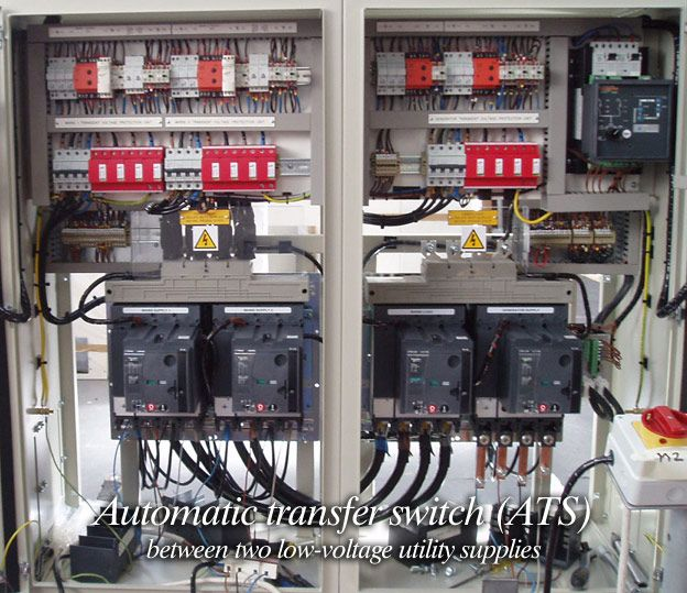 multiple utility services be used as an emergency or standby automatic transfer switch ats between two low voltage utility supplies
