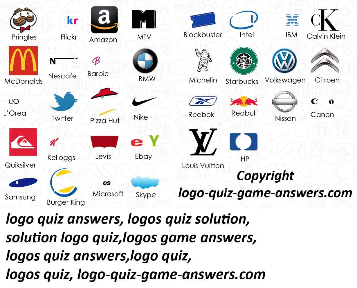 logo quiz answers level 2 HD Wallpapers Download Free logo