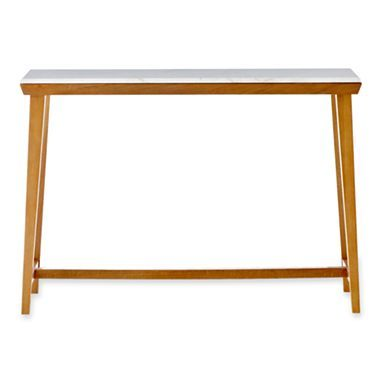 Design By Conran Marbled Console Table Jcpenney Con Immagini