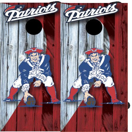 new england patriot cornhole board wrap by on etsy - Cornhole Board Wraps