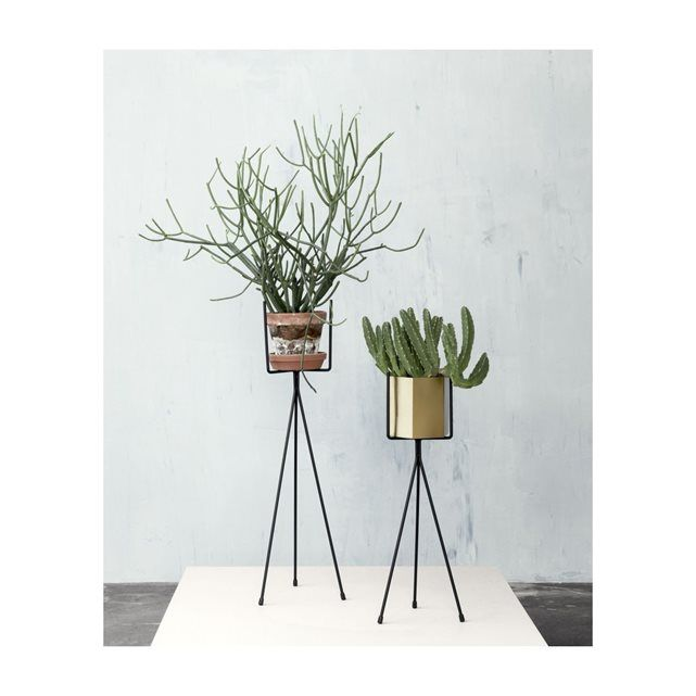 Support de pot de fleurs plant stand small ferm living for La redoute maison et deco
