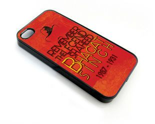 Amore Remember Bhagat Singh Iphone 5, 5S Case