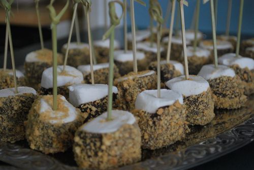 S'more on a stick
