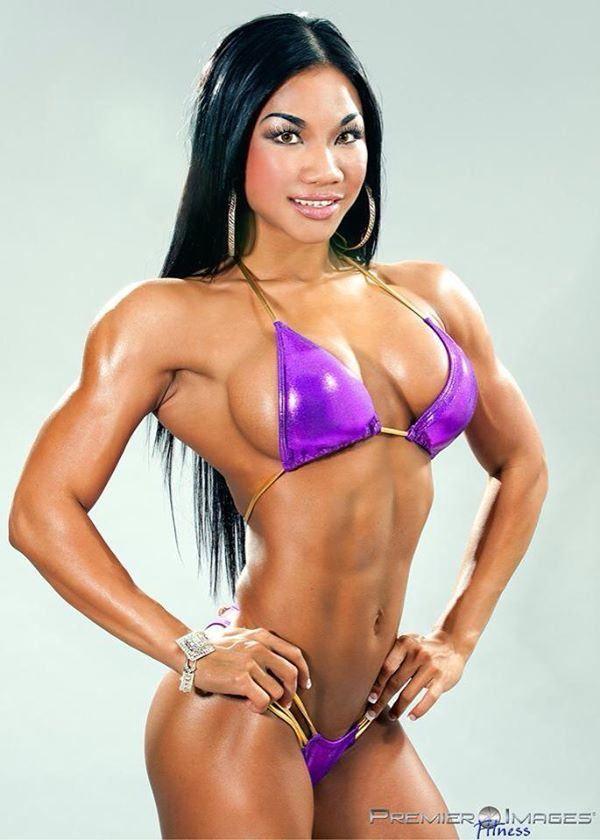 asian female fitness