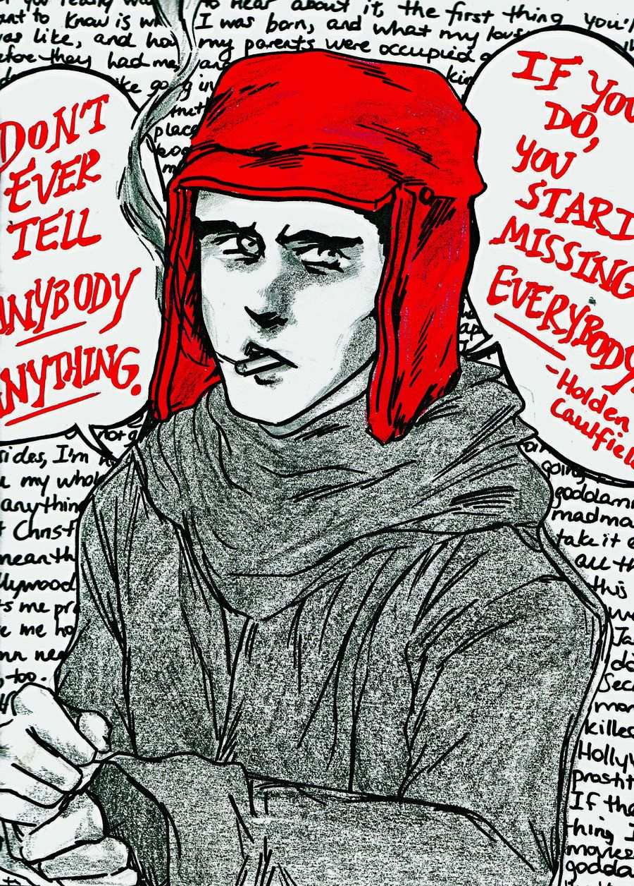 the philosophies of holden caulfield in catcher in the rye by j d salinger The puzzling, frustrating world of holden caulfield never loosens its grip on our imagination somehow, the growing pains of a privileged, alienated teenager lock onto deeper issues that continue to haunt us all the catcher in the rye and philosophy exposes these deeper issues by looking at salinger's masterpiece.