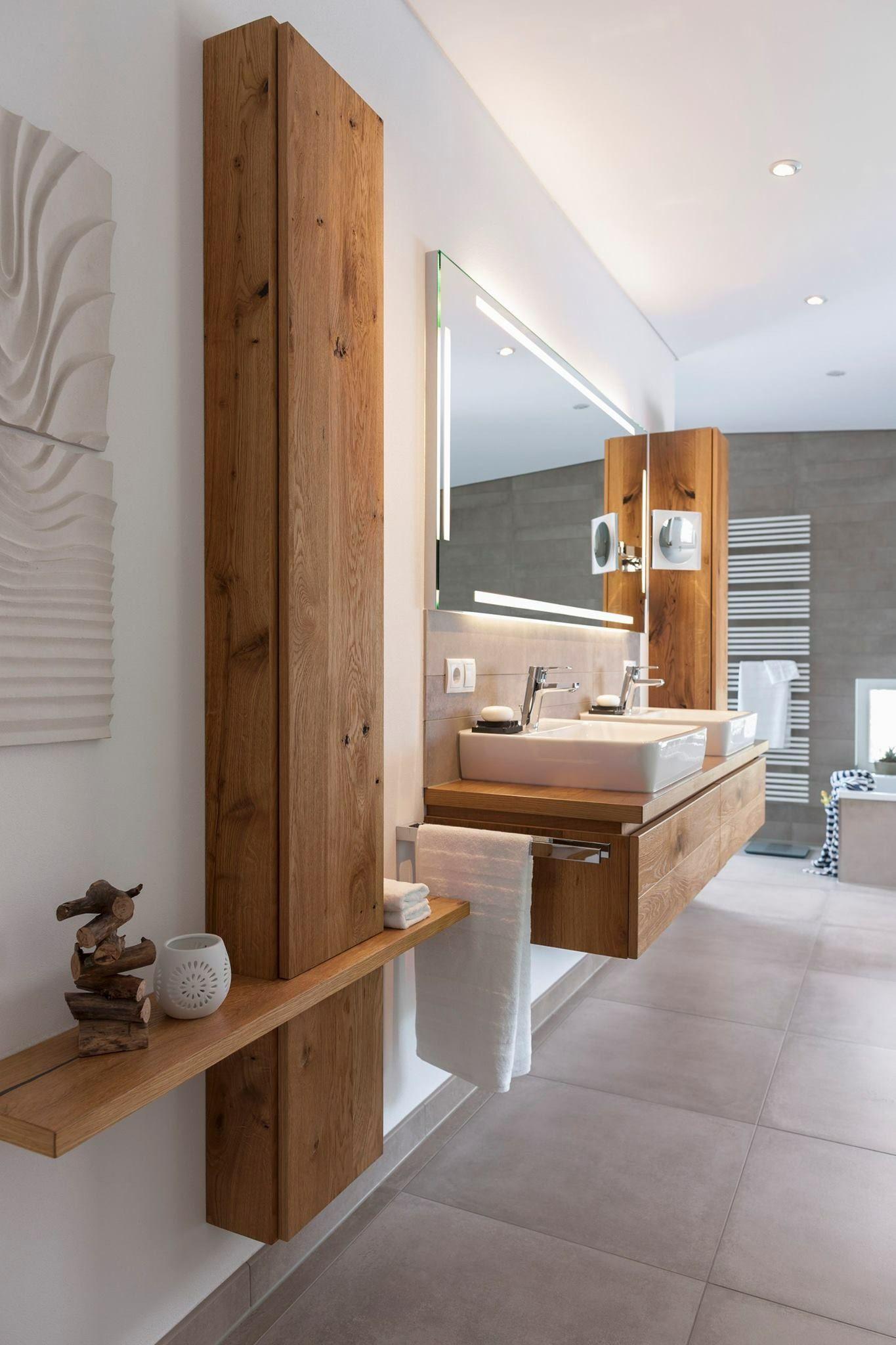 Зеркало-свет внутри должен быть как тут! #simplebathroomdesigns