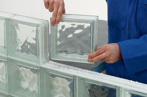 SAVERBAT Panneaux en briques de verre - Joint silicone Plus