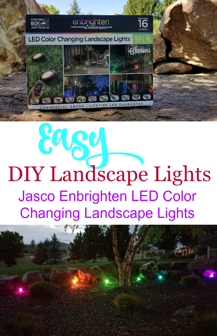 Lighting Up Our Summer Nights With Jasco Landscape Lights