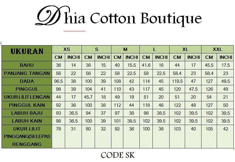 Dhia Cotton Pelbagai Corak Bajukurungmoden Menawan Menanti Anda Rambang Mata Dibuatnya Sesuai