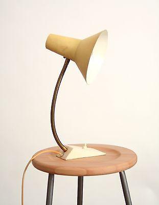 Elegant Retro   VINTAGE  Tischleuchte   Leuchte   Schreibtisch Lampe Gelb SIS  Type62 | EBay