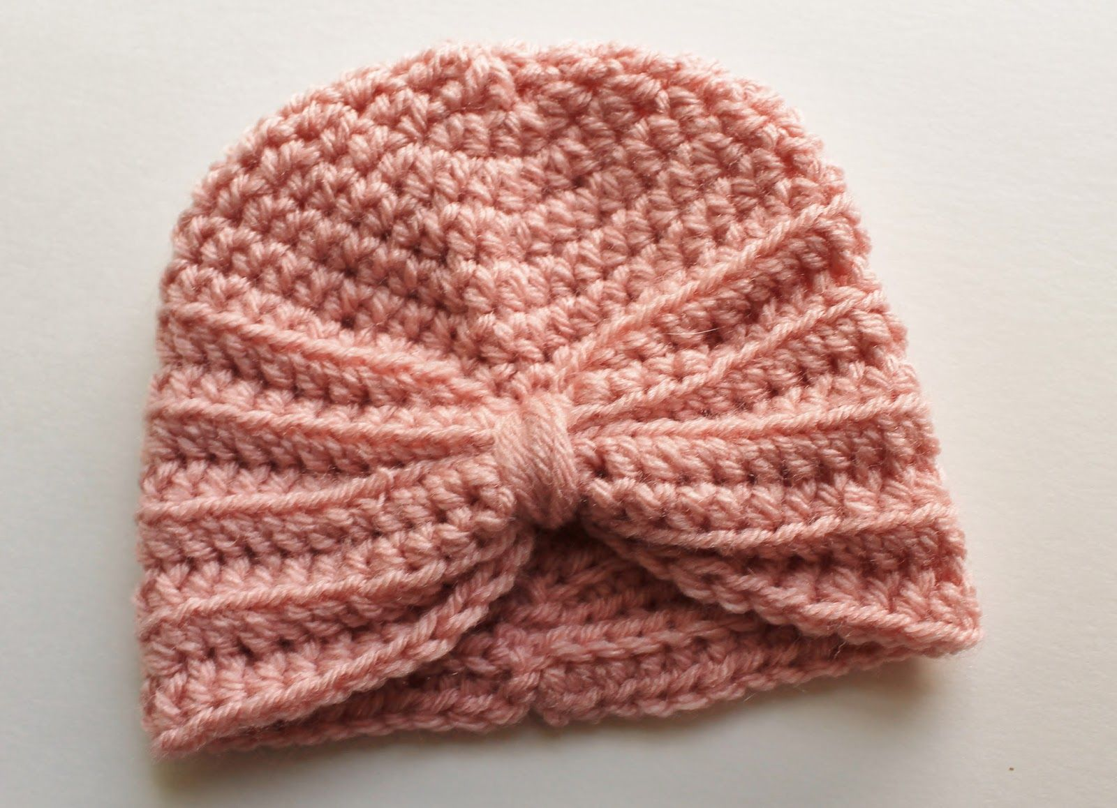 Crochet Baby Turban Pattern | Muster