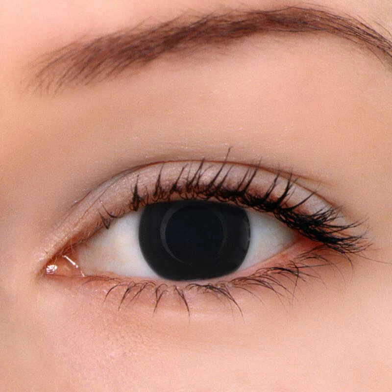Blind Black Colored Contact Lenses Colored Contact Lenses Circle Lenses Online Bealen Contact Lenses Colored Green Contacts Lenses Cosplay Contacts