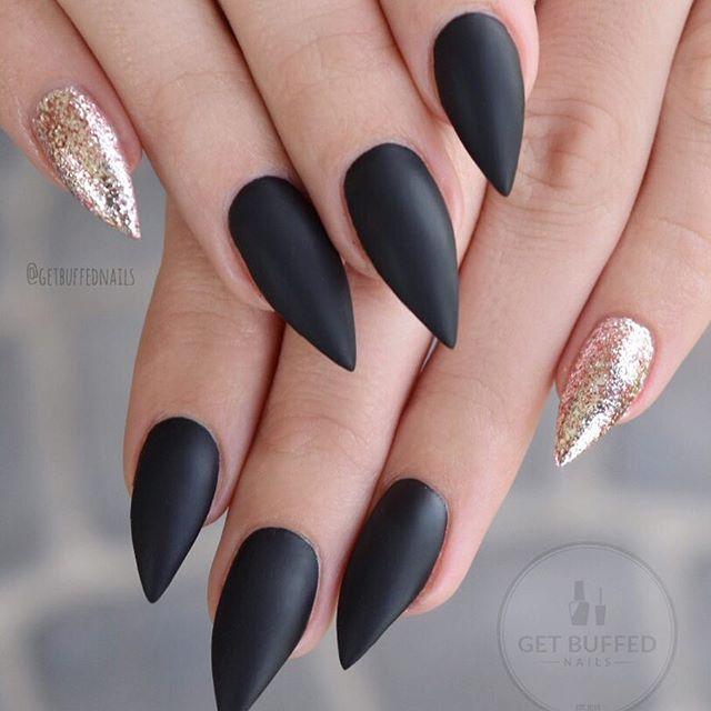 Stiletto nails @KortenStEiN | Nails | Pinterest | Uña decoradas ...