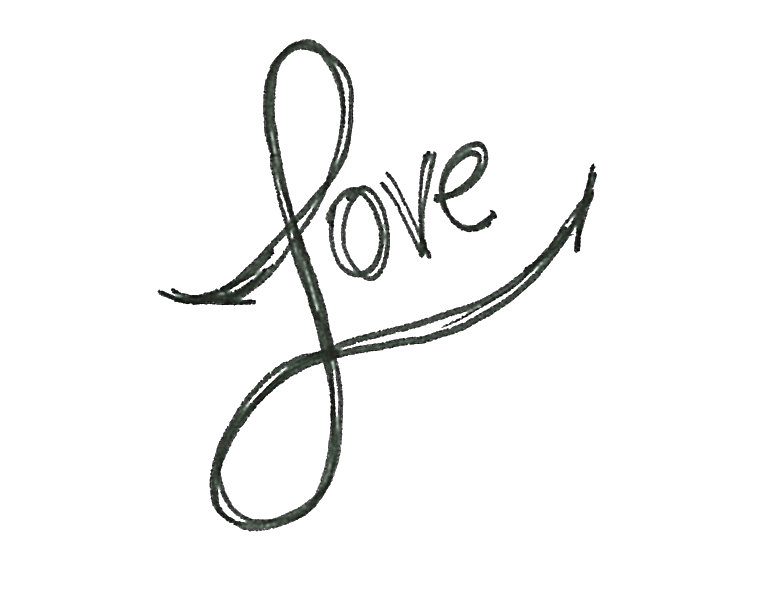 Line Art Word : Cool drawings of the word love download