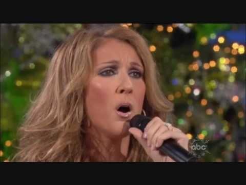 Celine Dion O Come All Ye Faithful Disney Parks Christmas Day Parade 2009 Christmas Music Videos Holiday Music Christmas Day Parade