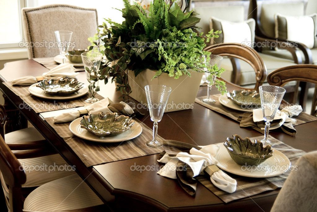 Way To Setting Dining Table