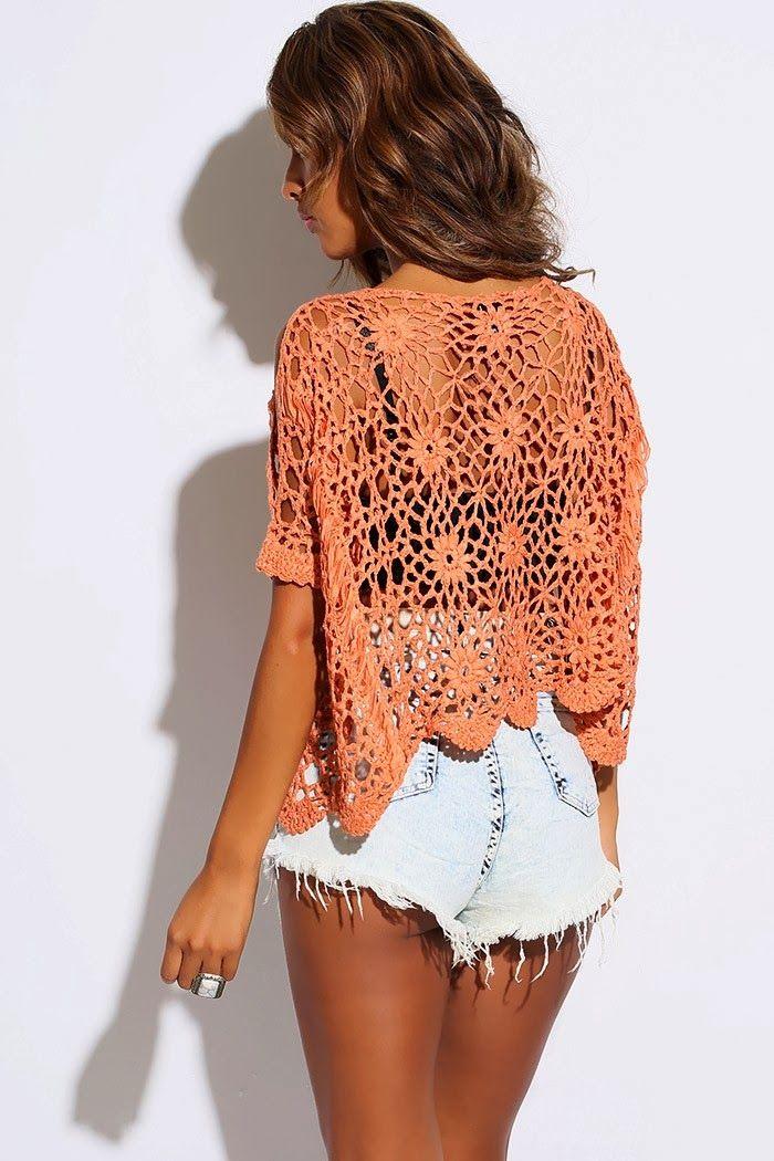 Pretta Crochet: Blusa decrochet