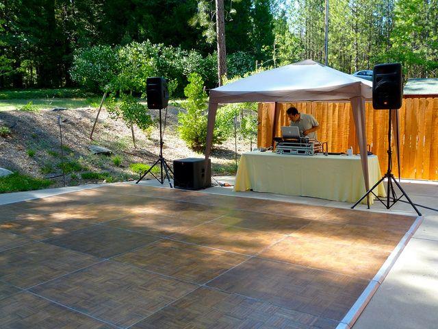 outdoor dance floor wedding or special event   Dance floor ...