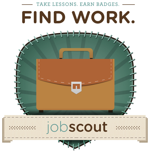 Do you have adult learners or patrons who are looking for a job but need help using the internet? Try jobscout, a library-sponsored initiative where users complete lessons and earn badges for internet job skills they need.
